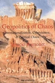 Cover of: Géopolitique du chaos