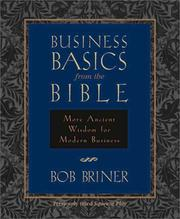 Cover of: Business basics from the Bible