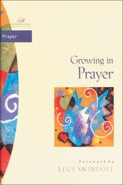 Cover of: Growing in Prayer