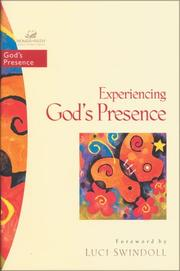 Cover of: Experiencing God's Presence