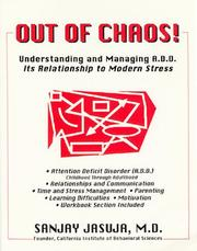Cover of: Out of chaos!
