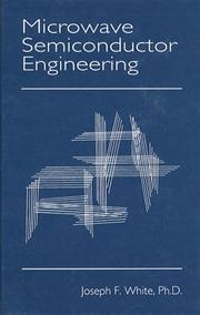 Cover of: Microwave semiconductor engineering