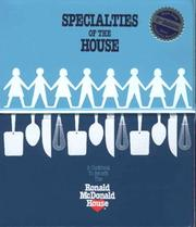 Cover of: Specialties of the House | Ronald Mcdonald House