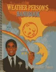 Cover of: Weather Person's Handbook the