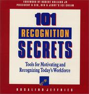 Cover of: 101 recognition secrets