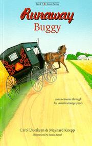Cover of: Runaway buggy | Carol Duerksen