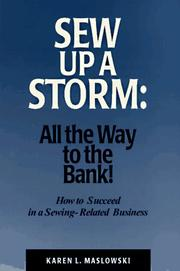 Cover of: Sew up a storm