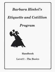 Cover of: Etiquette and Basic Ballroom Dance for Pre-Teens and Young Adults |