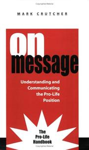 Cover of: On Message