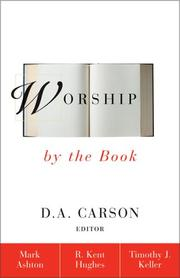 Cover of: Worship by the Book
