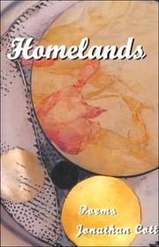 Cover of: Homelands | Jonathan Cott
