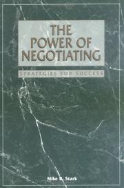 Cover of: The power of negotiating