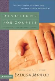 Cover of: Devotions for couples