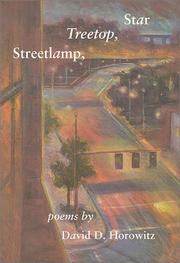 Cover of: Streetlamp, treetop, star