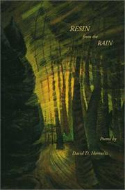Cover of: Resin from the rain