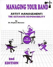 Cover of: Managing Your Band: Artist Management