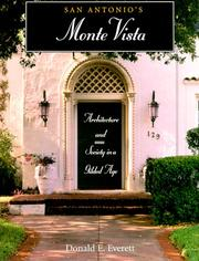 Cover of: San Antonio's Monte Vista