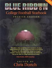 Cover of: Blue Ribbon College Football Yearbook 2000 | Chris Dortch