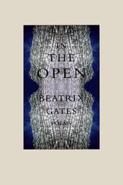 Cover of: In the open | Bea Gates