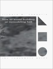 Cover of: How to avoid building or remodeling hell