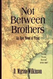 Cover of: Not between brothers