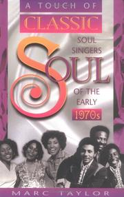 Cover of: A Touch of Classic Soul | Marc Taylor