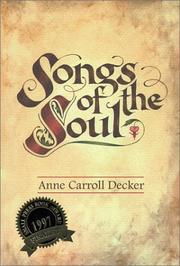 Cover of: Songs of the soul