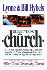 Cover of: Rediscovering Church