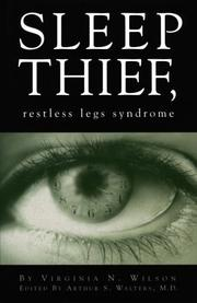 Cover of: Sleep thief, restless legs syndrome