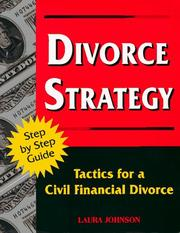 Cover of: Divorce strategy