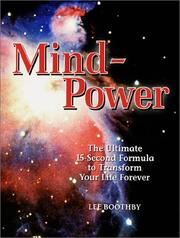 Cover of: Mind power