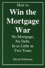 Cover of: How to Win the Mortgage War