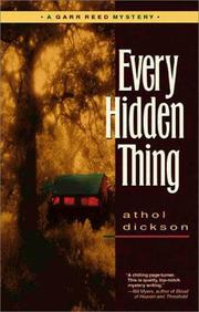 Cover of: Every hidden thing