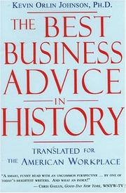 Cover of: The Best Business Advice in History