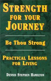 Cover of: Strength for your journey