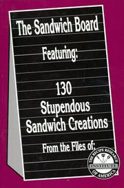 Cover of: The sandwich board