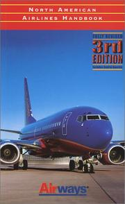 Cover of: North American Airlines Handbook | Tom Norwood, John Wegg