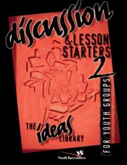 Cover of: Discussion & Lesson Starters 2 | Youth Specialties