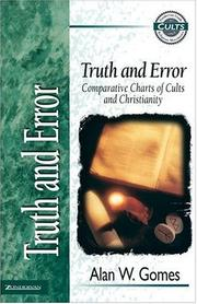Cover of: Truth and error |