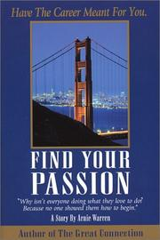 Cover of: Find your passion | Arnie Warren