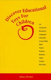 Cover of: Discover educational toys for children