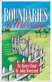 Cover of: Boundaries in Marriage