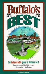 Cover of: Buffalo's best