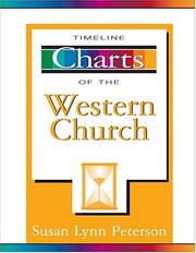 Cover of: Timeline charts of the Western Church