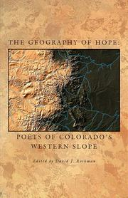 Cover of: The geography of hope |