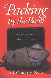 Cover of: Packing by the Book | R. J. Corkum-Nyks