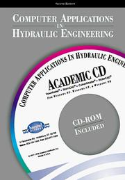 Cover of: Computer Applications in Hydraulic Engineering, Second Edition (CAIHE) | C. Waterbury