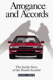 Cover of: Arrogance and Accords | Steve Lynch