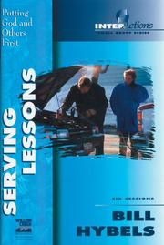 Cover of: Serving Lessons