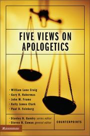 Cover of: Five views on apologetics